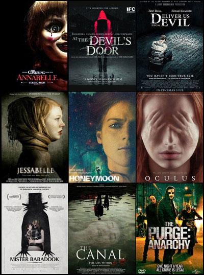 پوستر فیلمهای ترسناک ۲۰۱۴