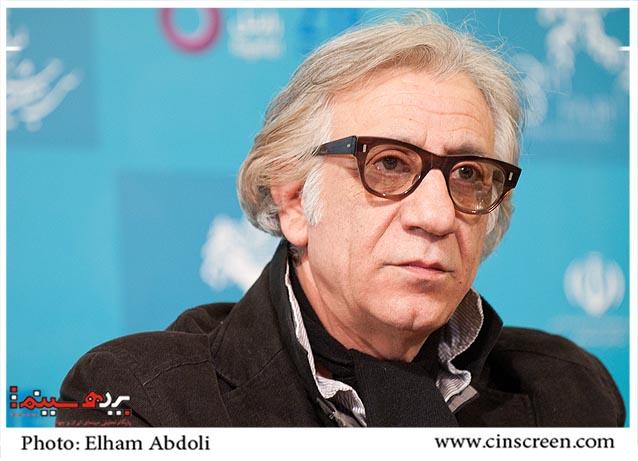 مسعود رایگان. عکس از الهام عبدلی. سایت پرده سینما