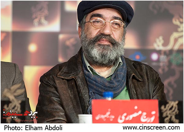 تورج منصوری- عکس از الهام عبدلی، سایت پرده سینما
