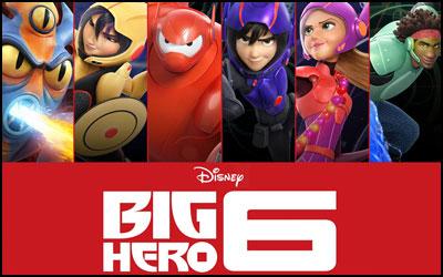 شش قهرمان بزرگ - تصویر یک