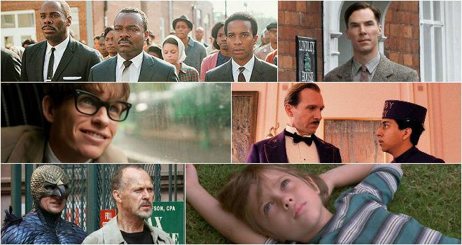 فیلمهای نامزد اسکار ۲۰۱۵