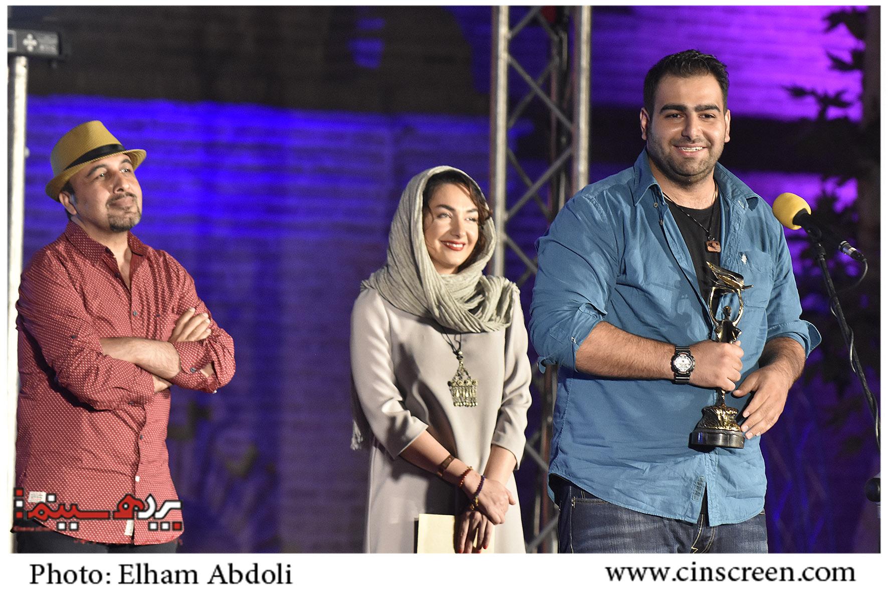 رضا عطاران، هانیه توسلی و محمد بدرلو. عکس از الهام عبدلی